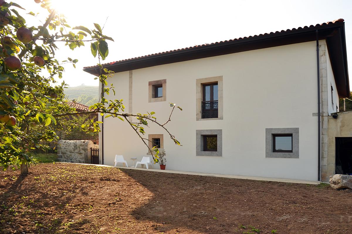 Rehabilitación casa asturiana