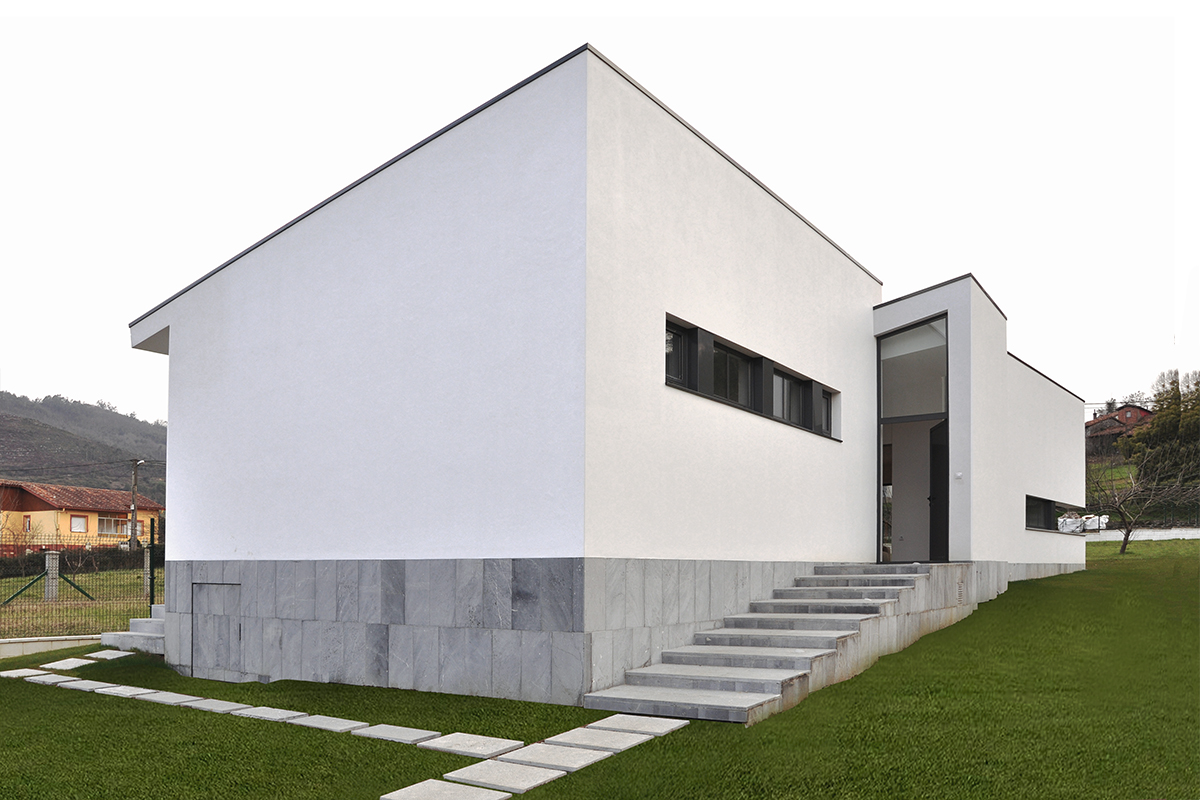 Vivienda en sandiche david olmos arquitectos - Palmer blanch arquitectos ...